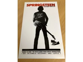 BRUCE SPRINGSTEEN AT THE ROXY 1975 GLOSSY PHOTO POSTER