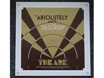 "the ark ""the worrying kind/absolutely no decorum"" (""7, PS) julklappstips"