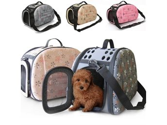 Portable Small Pet Dog Cat Sided Carrier Travel Tote Shou...