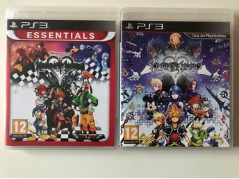 Kingdom Hearts 1.5 och 2.5