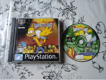 The Simpsons Wrestling PlayStation PSONE