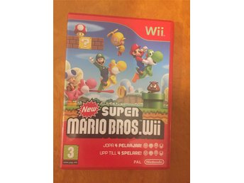 Wii spel new super mario
