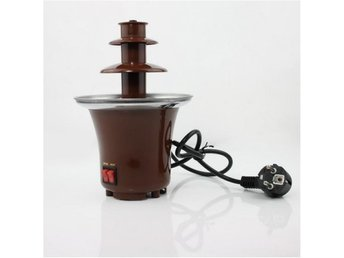 NY! Stainless Steel 3-Tier Chocolate Fountain Fondue