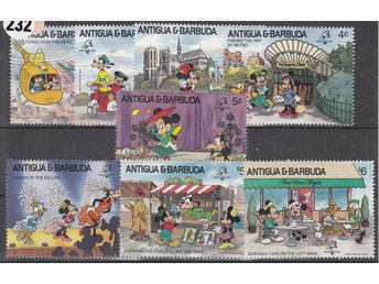 Disney, Antigua & barbuda 1989. Mnr: 1242-49 **