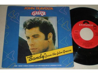 John Travolta 45/PS Sandy 1978 VG++