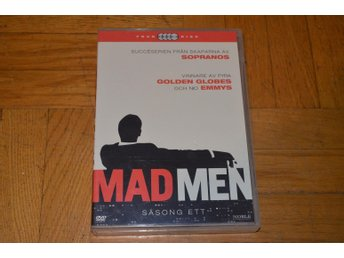 Mad Men - Säsong 1 - 4-Disc DVD