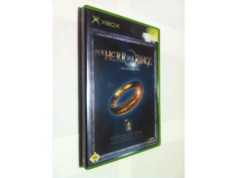 Xbox: Lord of the Rings - The Fellowship of the Ring