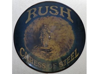 RUSH 'Caress of Steel' vinyl picture-disc LP