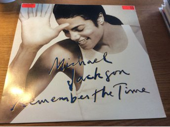 "Michael Jackson Remember the time 12"" USAPRESS"