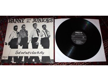 DANNY & JUNIORS LP At the Hop US Doo wop Classic Rare tracks