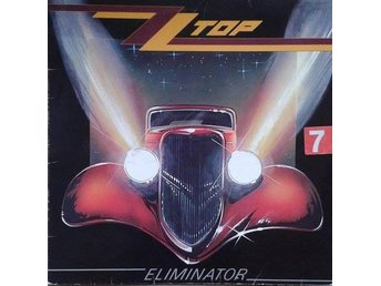 ZZ Top title*  Eliminator* Blues Rock, Arena Rock LP