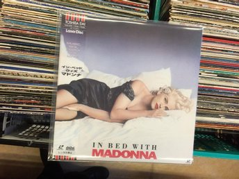 Madonna  Very Rare LaserDisc (Japan) In Bed With Madonna (Toshiba EMI) Great !!!