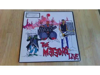 The Meteors - The Meteors Live (LP)