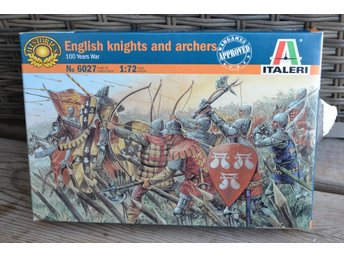 English Knights and Archers, 100 Years War 1:72 Italeri 6027 (26 Figurer) Ny - Vännäs - English Knights and Archers, 100 Years War 1:72 Italeri 6027 (26 Figurer) Ny - Vännäs