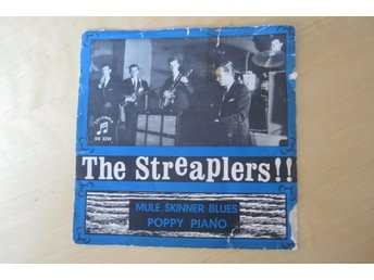 "The  STREAPLERS singelomslag  ""Mule Skinner Blues-Poppy Piano"" 1964"