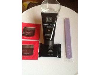 RITUALS Hammam Body Mud /  Soap / Rituals nagelfil & 2St.Tester Body Cream