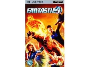 Fantastic 4 (Four) - UMD DVD - Playstation PSP