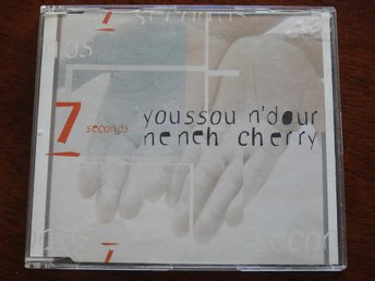 Youssou N'Dour & Neneh Cherry - 7 Seconds CD Single 1994