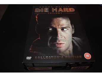 DVD-box: Die Hard - Trilogy (Bruce Willis) - (6 disc) Fint skick!