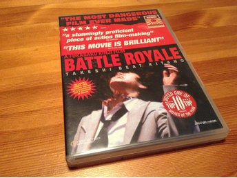 Battle Royale - 2 Disc - Director's Cut - Svensk text - DVD