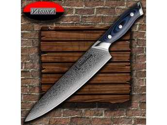 Chef Knife 200 mm Damascus Japanese Stainless Steel VG10 Kitchen Knives NEW