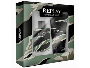 Replay signature for him gift set Ny oanvänd