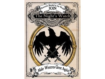 Pergament - Game Of Thrones - Join The Night's Watch