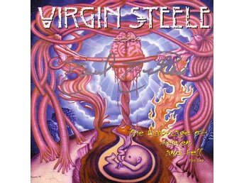 Virgin Steele-The marriage of heaven and hell / Signerad CD