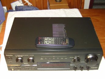 Technics SA-AX530 Surround receiver i bra skick! 5x80W