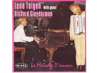 Lena Teigen with Richard Clayderman and his orc - La Melodie D'amour