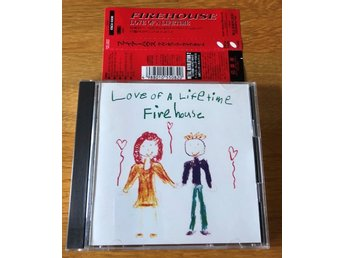 Firehouse Love of a Lifetime Japan cd 1991  Live + Akustiskt
