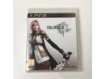 Ps3, PS3 Spel, Final Fantasy XIII