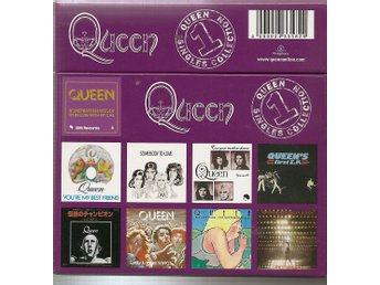 Cds-Box -Queen-Vol 1-13 Cd-singlar I Toppskick-