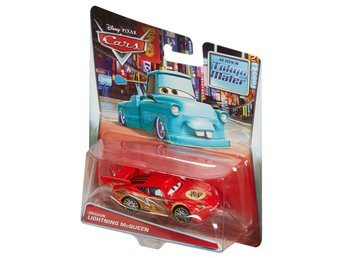 Cars Bilar Pixar Mcqueen Disney  - Cars Toon - Dragon Mcqueen Oil Stains   NY !