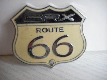 ROUTE 66 EMBLEM. - Bankeryd - ROUTE 66 EMBLEM. - Bankeryd