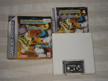 GBA/Game Boy Advance: Donald Duck Advance - Stockholm - GBA/Game Boy Advance: Donald Duck Advance - Stockholm