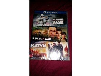 3 movies (war) - Fristad - 3 movies (war) - Fristad