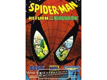 SPIDER-MAN – RETURN OF THE SINISTER SIX (kassett) till Sega Master System
