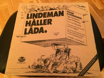 HASSE OCH TAGE - LINDEMAN 10st LP