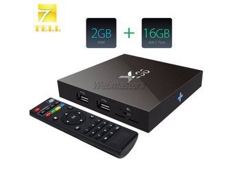 Smart TV Box Android 6.0 Quad Core X96 EU Plug