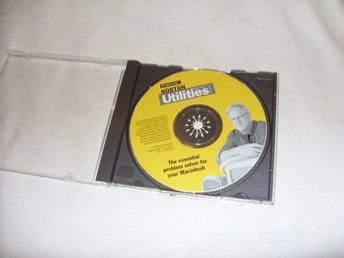 Norton Utilities 5.0 for Macintosh verktygs program Mac OS 9 kompatibel