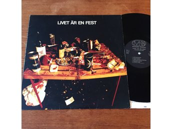 Nationalteatern - Livet är en Fest Original LP MNV 1974 progg