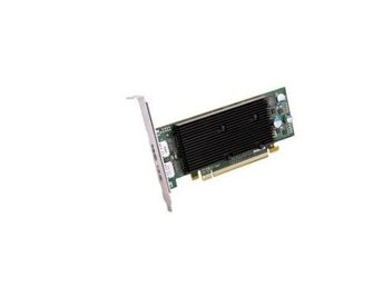 Matrox M9128 PCI-E x16 1024MB 2xDisplayPort Fanless incl. Low Profile Bracket