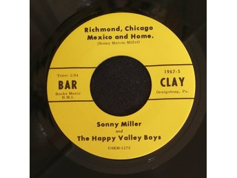 RARE COUNTRY ROCKER - SONNY MILLER - RICHMOND CHICAGO MEXICO AND HOME