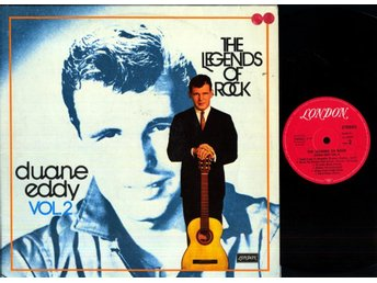 DUANE EDDY - THE LEGENDS OF ROCK VOL 2 - GF - 2-LP