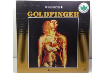 James Bond 007 Goldfinger (Sean Connery) Laserdisc 1LD B8-02