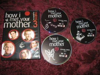 HOW I MET YOUR MOTHER SÄSONG 3 (JOSH RADNOR,JASON SEGEL) 3-DISC DVD