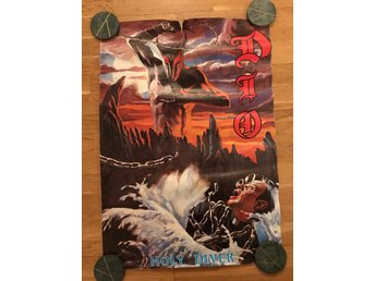Dio holy diver poster från 80-talet