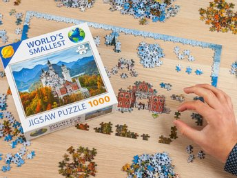 Pussel -  World´s Smallest Puzzle
