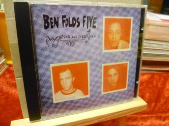 BEN FOLDS FIVE , CD , WHAT EVER AND EVER AMEN , utgiven 1997